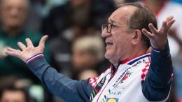 Das sonderbare Schauspiel des kroatischen Trainers