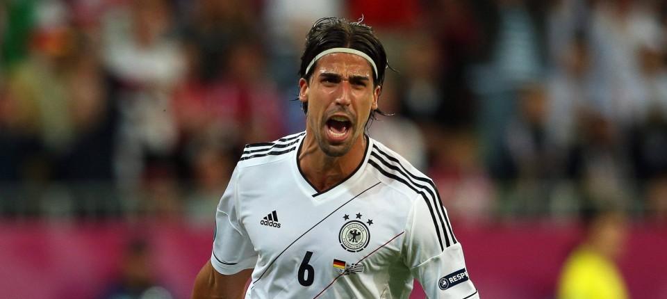 Sami Khedira Sein Revier Ist Der Ganze Platz Deutsches Team Faz
