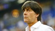 """""""Ich lasse manches offen"""": Bundestrainer Joachim Löw."""