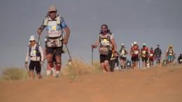 Ultra-Marathon durch die Wüste