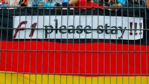 Formel 1 weiter in Deutschland