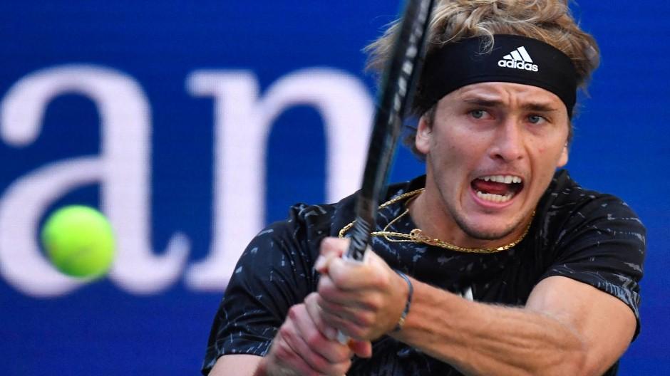 Alexander Zverev hat auf dem Weg in die dritte Runde keine Mühe.