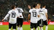 Ein Spiel dauert 93 Minuten und am Ende freut sich Deutschland