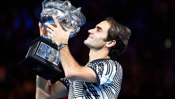 Australian-Open-Titel: Das goldene Comeback des Roger Federer