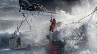 Volle Kraft voraus: Boris Herrmann bei der Vendée Globe
