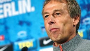 Hertha BSC und der doppelte Klinsmann
