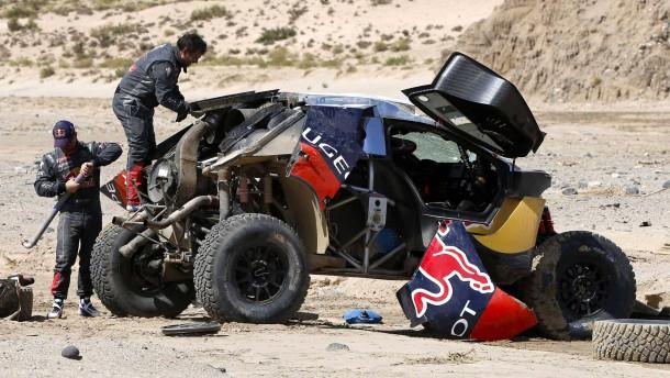 Loeb nimmt spektakulären Crash auf seine Kappe