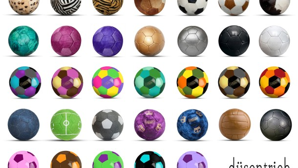 Von Designerbällen und Fußball-Marionetten