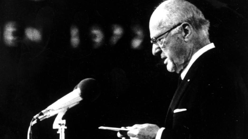 Avery Brundage war Präsident des Internationalen Olympischen Komitees von 1952 bis 1972.