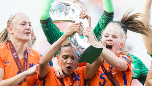 Die Fußball-EM der Frauen weicht dem Männerturnier