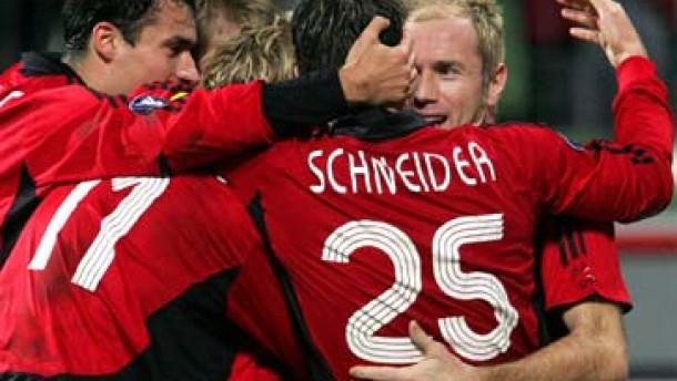 Leverkusen verhindert das deutsche Debakel