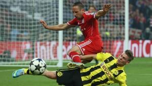 Ribéry fehlt den Bayern in Dortmund