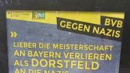 Guerilla-Marketing gegen Rechts? Eine Plakataktion in Dortmund sorgt für Wirbel.
