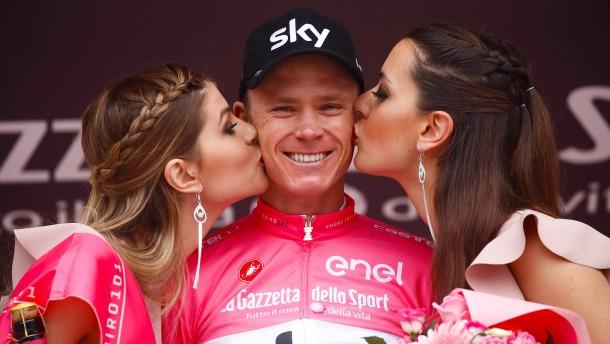 Froome gewinnt wieder den Giro d'Italia