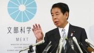 Japanischer Sportminister tritt zurück