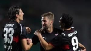 4:1 in Györ - Stuttgart schießt sich in den Europapokal