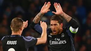Neapel verzweifelt an Real Madrids Ramos