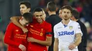 17-Jähriger sorgt bei Liverpool für einen Rekord