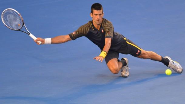 Bis zum letzten Schlag: Novak Djokovic und Kollegen gehen bis an die körperlichen Grenzen
