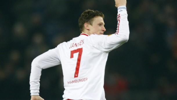 Jansen und Berg schießen HSV in die Zwischenrunde