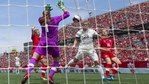 DFB-Frauen gewinnen gegen Kanada