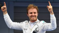 """""""Von der ersten Runde an habe ich mich wohl gefühlt"""": Nico Rosberg."""