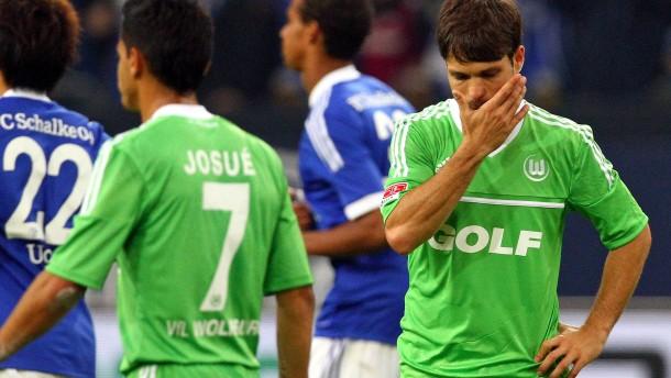 Wolfsburg hoffnungslos unterlegen