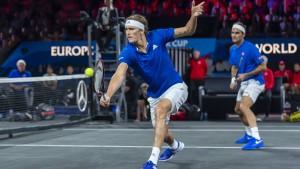 Federer/Zverev sichern Europa die Führung