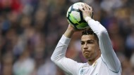 Cristiano Ronaldo traf zwar, aber Real Madrid gewann nicht.