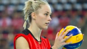 Ein Global Player am Volleyball-Netz