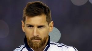 Argentinien bangt um Messi