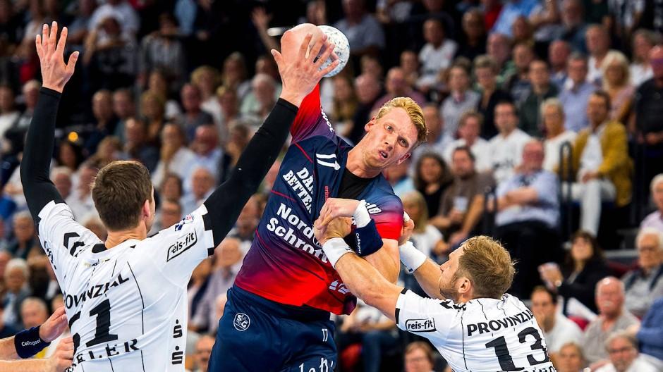 Wird bald geworfen? Die deutsche Handball-Bundesliga will den Spielbetrieb im Mai wieder aufnehmen.