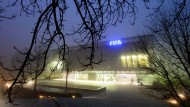 Im Nebel: Die Fifa-Zentrale in Zürich