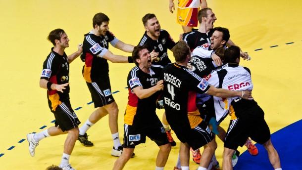 Deutschland zurück im Turnier