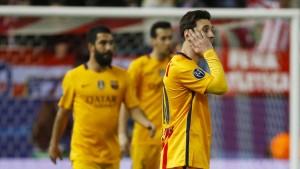 Barcelona scheitert am Fluch des Titelverteidigers