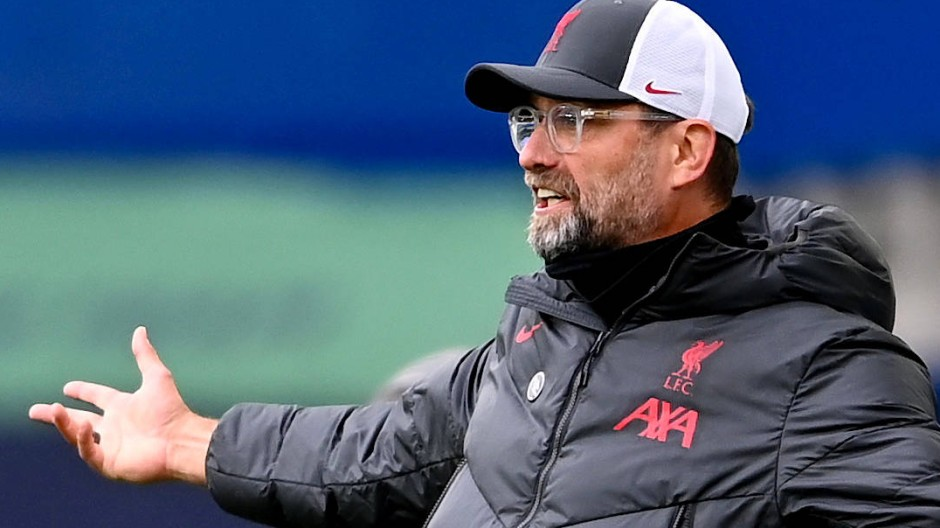 Abseits? Jürgen Klopp und der FC Liverpool verstehen die Fußballwelt nicht mehr.