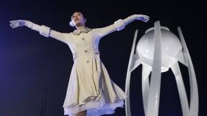 Eine bunte Show und große Emotionen in Korea