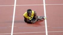"""""""Normalerweise mache ich das nicht, aber leider haben einige Leute infrage gestellt, dass ich tatsächlich verletzt bin"""", schrieb Bolt."""