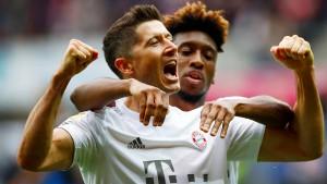 FC Bayern zittert sich an die Tabellenspitze