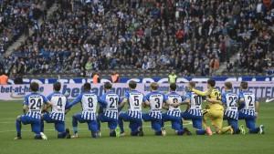 Amerikanischer Protest auch in der Bundesliga
