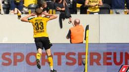 Dynamo Dresden gewinnt deutlich