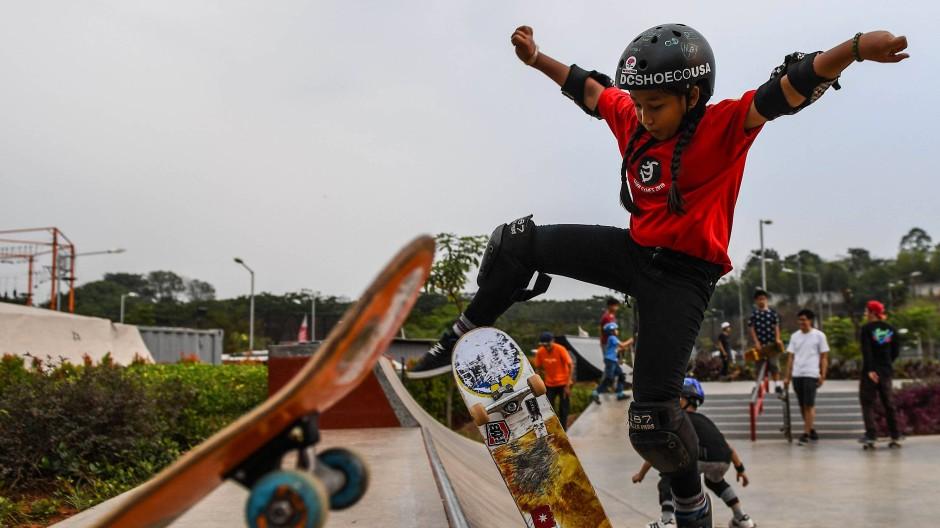 """""""Ich würde es lieben, in Tokio zu skaten"""": Aliqqa Noverry."""