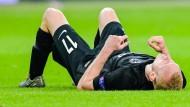 Wichtige Stütze in dieser Saison, nun droht eine lange Pause: Sebastian Rode von Eintracht Frankfurt