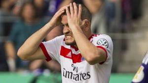 HSV blamiert sich im DFB-Pokal kräftig