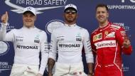 Vettel sprengt die Phalanx der Silberpfeile