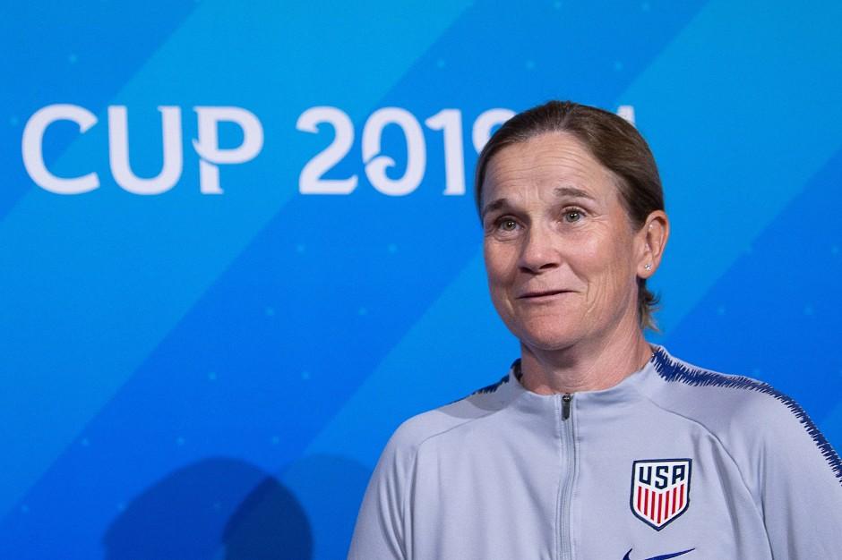 Die Engländerin Jill Ellis ist Cheftrainerin der Vereinigten Staaten.