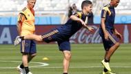 Kolumbien auch ohne Falcao mit breiter Brust