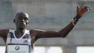 Kimetto läuft in Berlin Weltrekord
