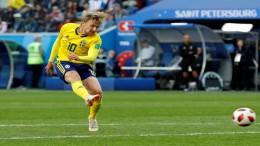 Schweden schlagen Schweizer