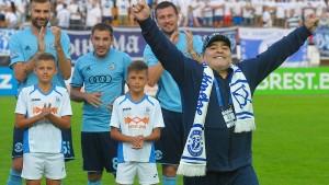 """""""Die Nummer mit Maradona ist mir peinlich"""""""